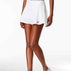 Nike Court Flex Tennis Skirt Skort White Small S